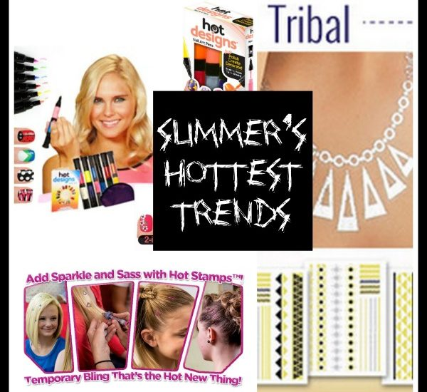 Hot Trends for Summer: Hot Designs, Hot Stamps, and Hot Jewels