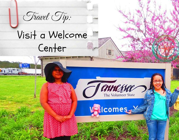 Roadtrip Tip: Stop at the Welcome Center!