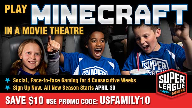 Play Minecraft on the Big Screen + Giveaway