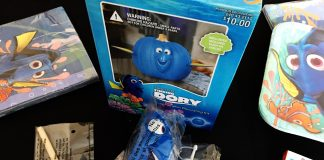 Finding Dory No Carve Pumpkin