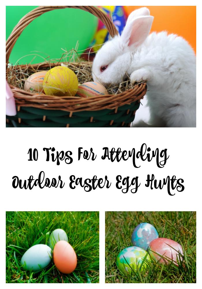Outdoor Easter Egg Hunts
