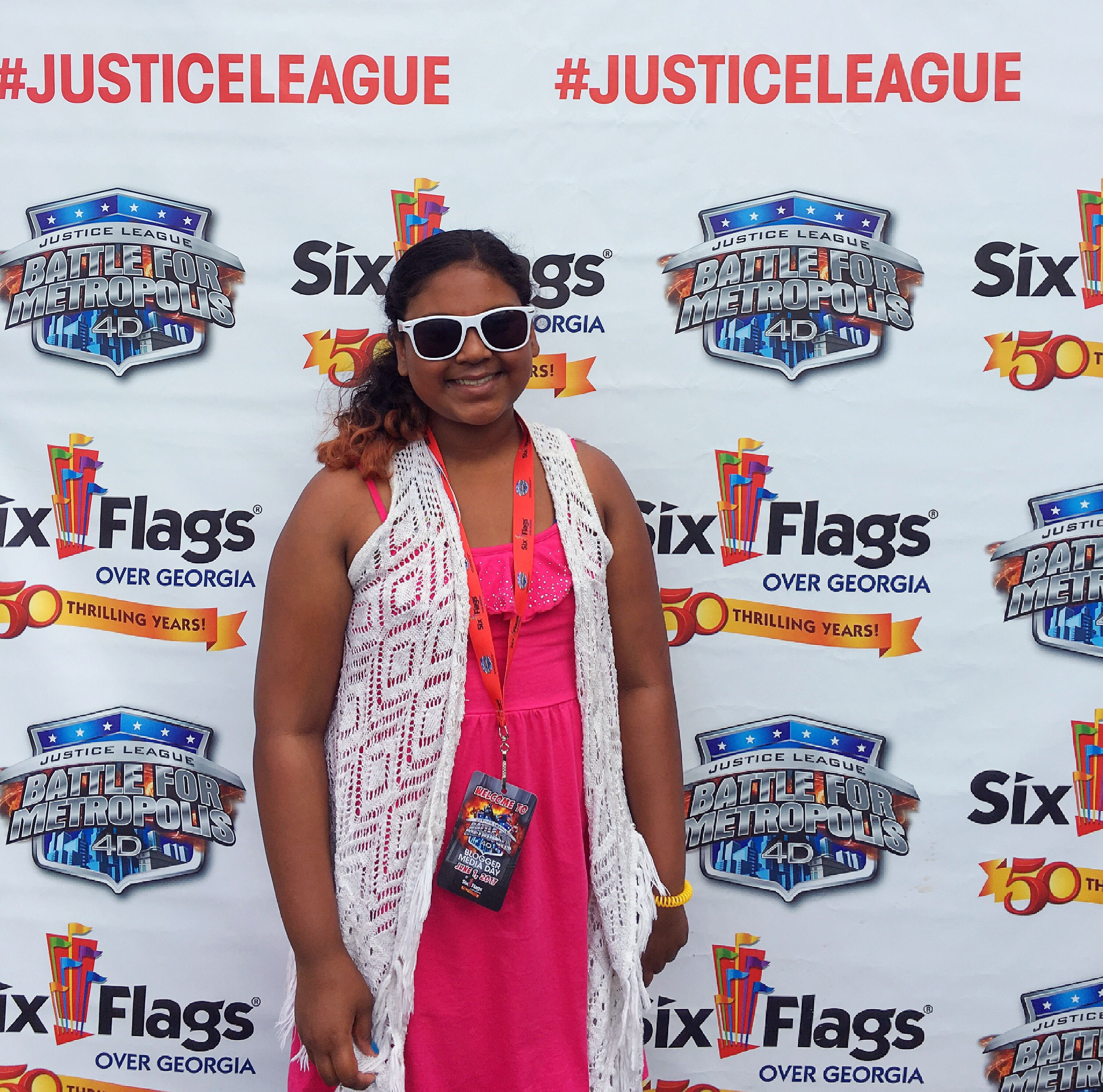 DC Comics Justice League Battle for Metropolis Six Flags over Georgia touristmom.com