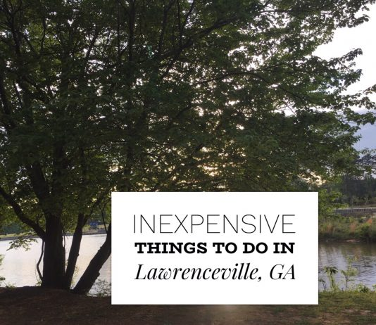 Inexpensive things to do in Lawrenceville Georgia touristmom.com