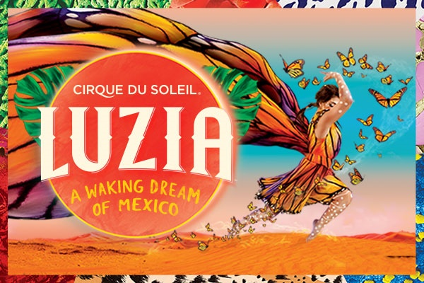 Cirque du Soleil LUZIA is coming to Atlanta